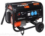Бензиновый генератор PATRIOT GP 3810L
